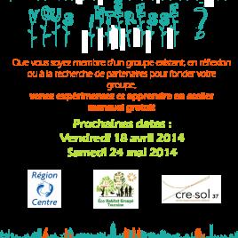 Flyer Atelier HPC au CRE-SOL avril et mai