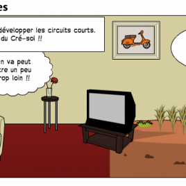 Pixton Comic Les circuits courts alimentaires par dimitrirouger 1